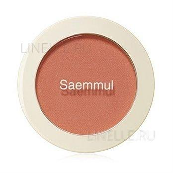 Saemmul single blusher or01 mandarine kiss [Румяна]
