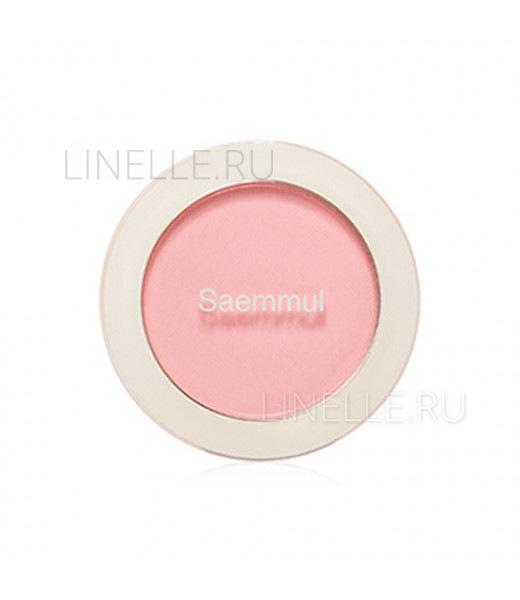 Saemmul single blusher pk05 yogurt pink [Румяна]