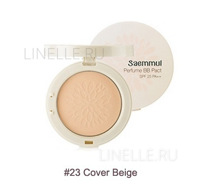 Sammul perfume bb pact spf25 pa   23 cover beige [Пудра компактная ароматизированная]