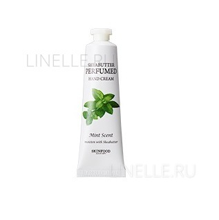 SKINFOOD Shea butter perfumed hand cream (mint scent)