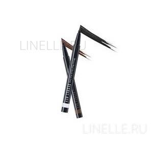 Skinny real quick eye liner(renewal)skinny brown [Подводка для глаз]