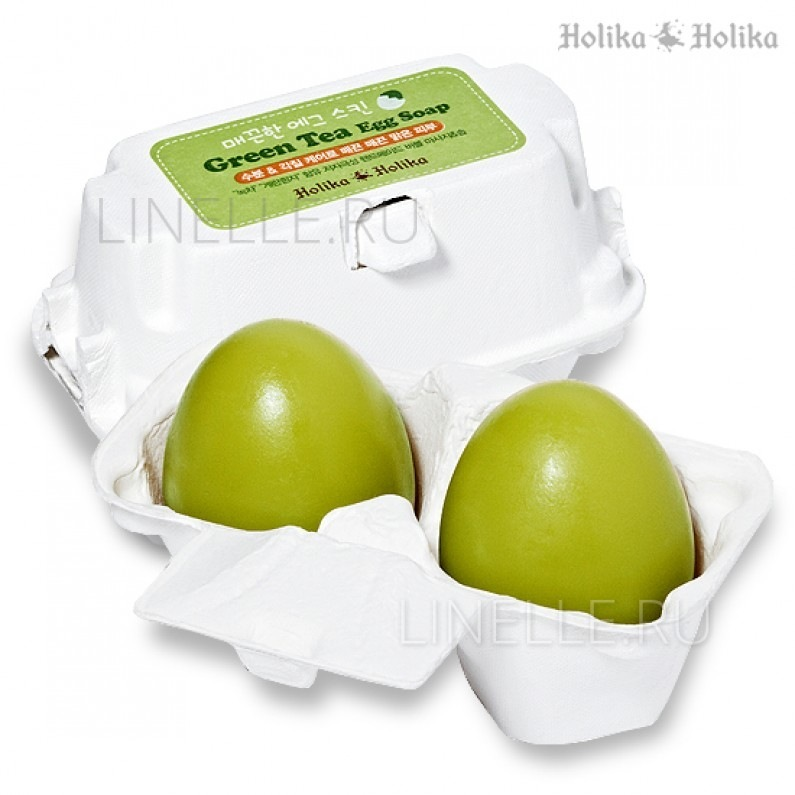 HOLIKA HOLIKA Smooth egg green tea egg soap