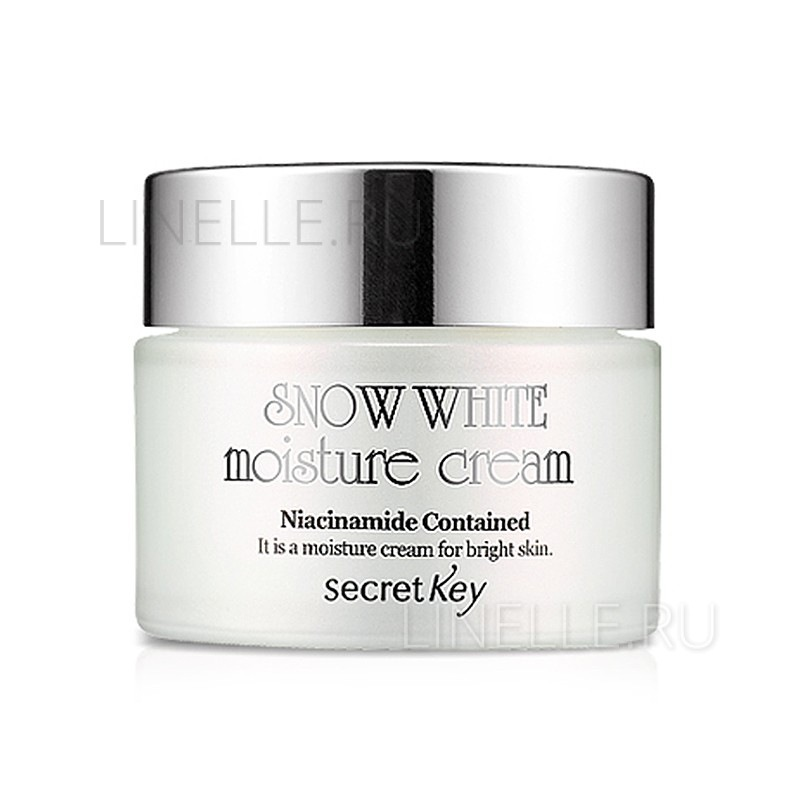 Snow white moisture cream [Крем для лица увлажняющий, отбеливающий]