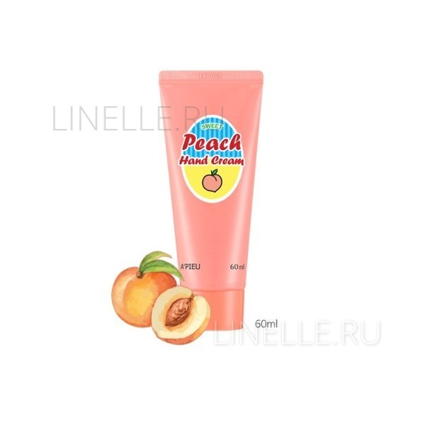 A'PIEU Sweet peach hand cream