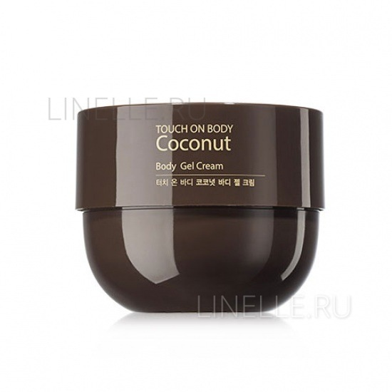 THE SAEM Touch on body coconut body gel cream