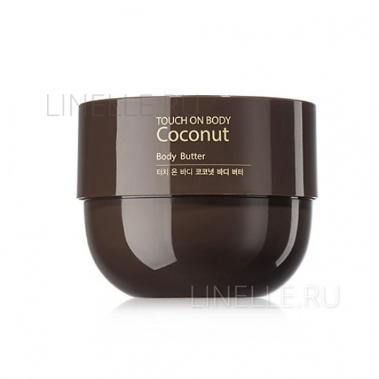 THE SAEM Touch on body coconut body butter