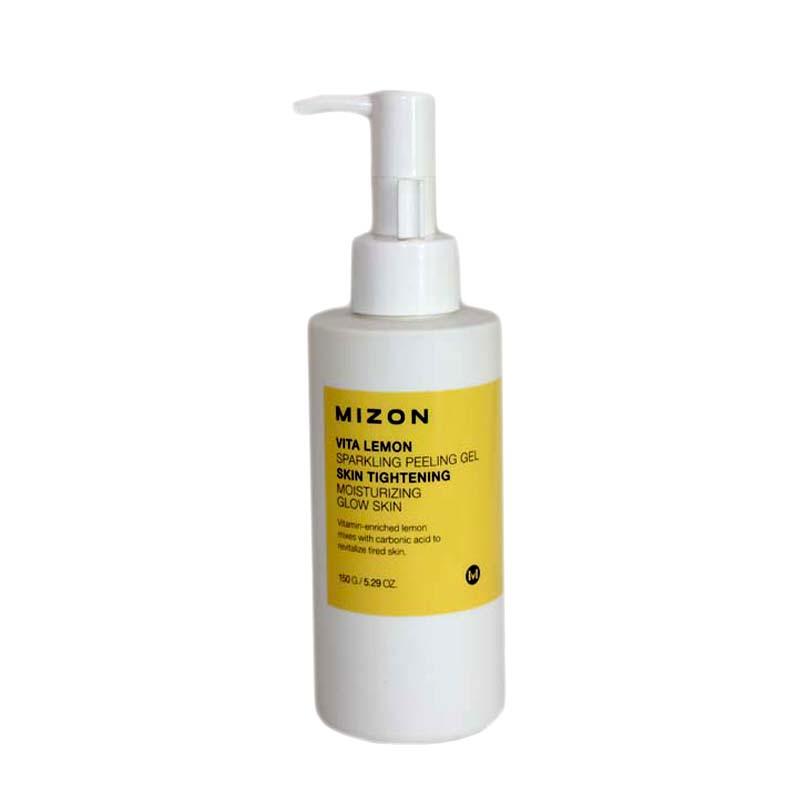 lemon sparkling peeling gel instructions