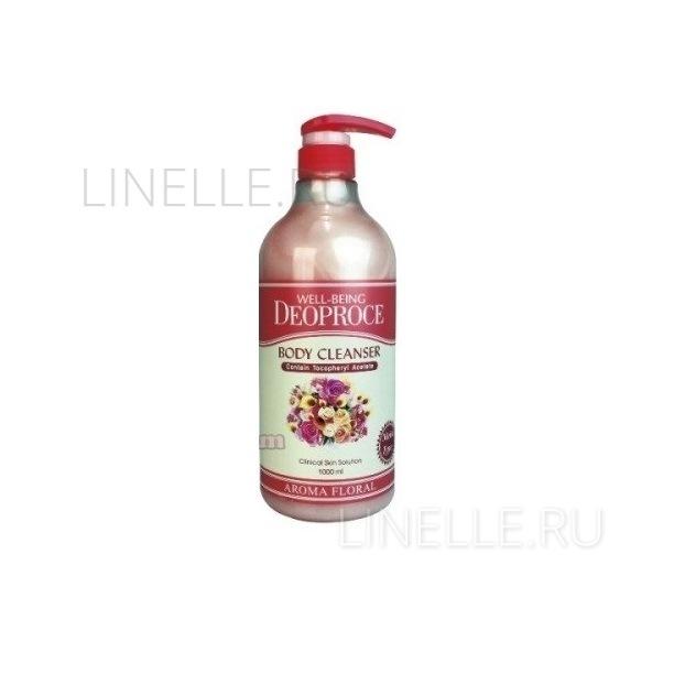 Well-being aroma body cleanser floral [Гель для душа цветочный]