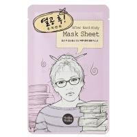 After mask sheet - hard study [Маска тканевая релакс]