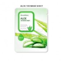 Aloe 100 mask sheet [Маска для лица тканевая с алоэ ]
