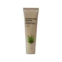 Aloe fresh creamy deep foam [Кремовая пенка для умывания с экстрактом алое]