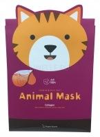 Animal mask series - cat [Маска тканевая с морским коллагеном]