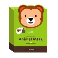 Animal mask series - monkey [Маска тканевая с муцином улитки]