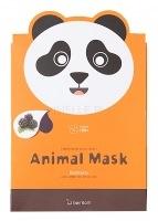 Animal mask series - panda [Маска тканевая экстрактом ежевики]