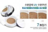 Aqua aura uv moist cushion refill 02 [Сменный блок ББ пудра 02]