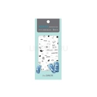 Aqua fix water free nail sticker 02 under the sea [Наклейки для ногтей 02]