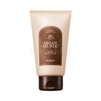 Argan oil silk plus hair maskpack [Маска для волос с маслом арганы и аминокислотами шелка]