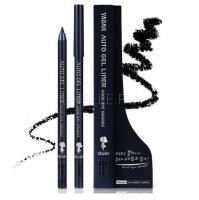 Auto gel liner goodbye smudge 01 real black [Автоматический крандаш для глаз с гелевой текстурой]