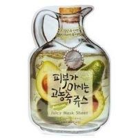 Avocado juicy mask sheet(nutritious&lifting) [Маска тканевая фруктовая]