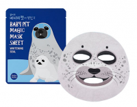 Baby pet magic mask sheet 03 seal [Маска для лица тканевая осветляющая]