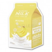Banana milk one-pack [Маска для лица тканевая]