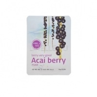 Berry very good acai berry mask (tone care & nourishing) [Маска для лица с экстрактом ягоды асаи]