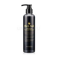 Black snail all in one treatment shampoo [Шампунь улиточный]