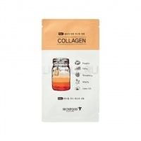 Boosting juice 2-step mask sheet collagen [Маска для лица тканевая ]