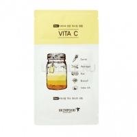 Boosting juice 2-step mask sheet vita c [Маска для лица тканевая ]
