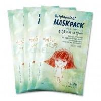 Brightening mask pack [Маска для лица на тканевой основе ]