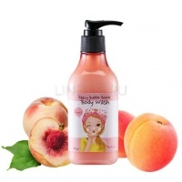 Bubble bomb body wash peach [Гель для душа персиковый]