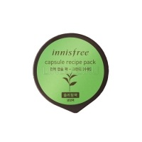 Capsule recipe pack greentea [Маска для лица капсульная ]