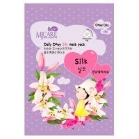 Care daily dewy silk mask pack [Маска тканевая с аминокислотами шелка]