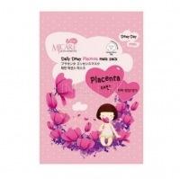 Care daily dewy placenta mask pack [Маска тканевая с плацентой]