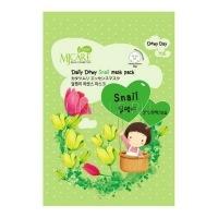 Care daily dewy snail mask pack [Маска тканевая с экстрактом слизи улитки]
