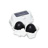 Charcoal egg soap [Мыло-маска ручной работы с древесным углем]