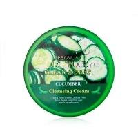 Clean & moisture cucumber massage cream [Крем массажный с экстрактом огурца]