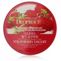 Clean & moisture strawberry yogurt massage cream [Крем массажный с экстрактом клубники]