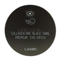 Collagen Аnd Black Snail Premium Eye Patch [Гидрогелевые патчи для области вокруг глаз с коллагеном и муцином черной улитки]