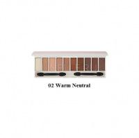 Color master shadow palette 02 warm neutral [Палетка теней для глаз]