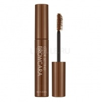 Color setting brow mascara (no.4/amber brown) [Тушь для бровей]