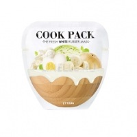 Cook pack the fresh white rubber mask [Маска для лица осветляющая]