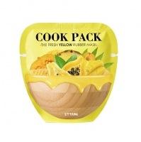 Cook pack the fresh yellow rubber mask [Маска для лица питательная]