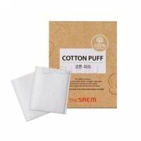 Cotton puff [ Спонжи косметические из 100% хлопка]