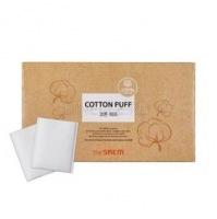 Cotton puff (new) [Спонжи косметические из 100% хлопка]