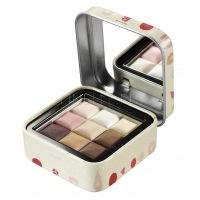 Cube eyeshadow 3 color 04 pink brown [Палетка теней для век]