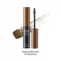 Designing browcara 03 gray brown [Тушь для бровей]