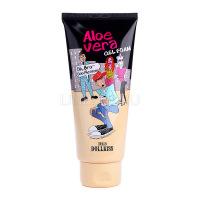 Dollkiss the big aloe vera gel foam [Гель-пенка для умывания с экстрактом алоэ]
