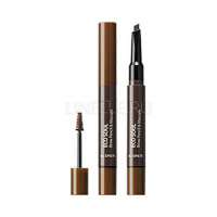 Eco Soul Brow Pencil & Mascara 02 Natural Brown [Тушь-карандаш для бровей]
