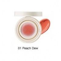 Eco soul bounce cream blusher 01 peach dew [Кремовые румяна]